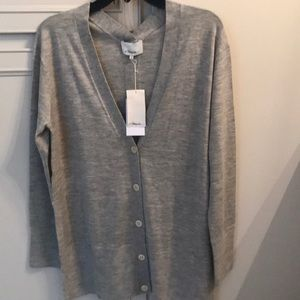 Brand new 3-1 Philip lim boyfriend cardigan